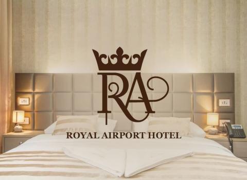 dizajn logotipa Royal airport hotel