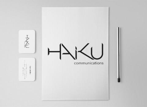 dizajn vizualni identitet Haiku comunications