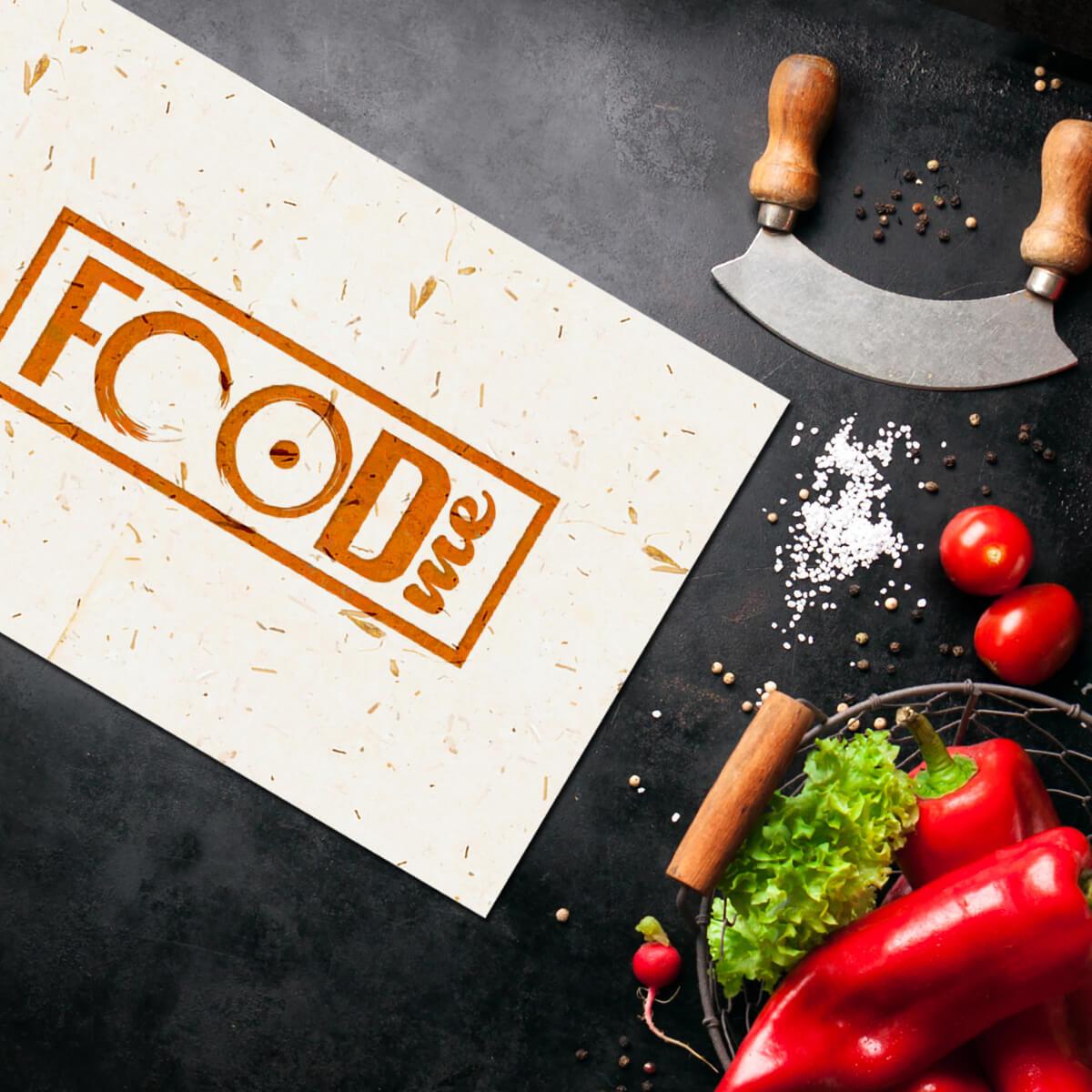 dizajn logotipa FOOD me