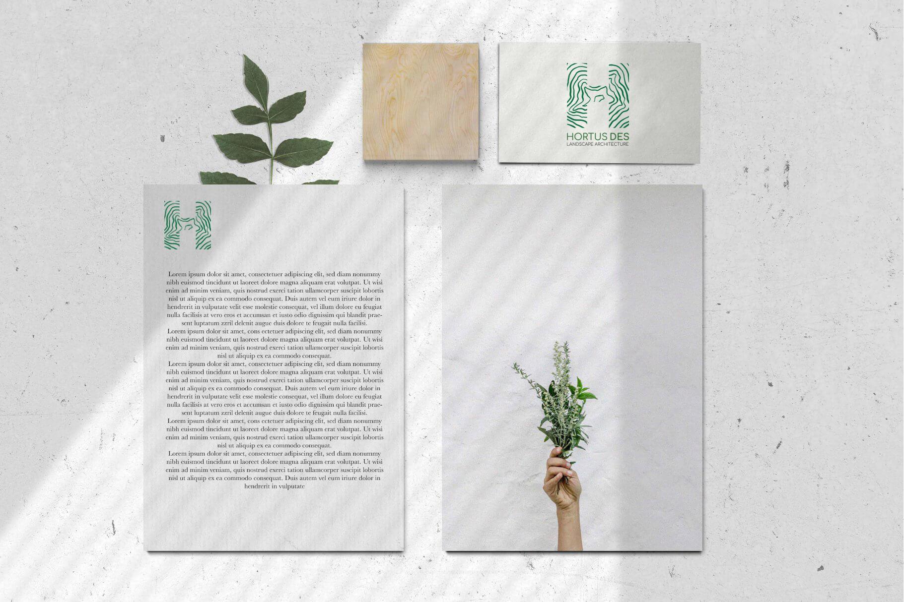 Hortus des dizajn logotipa